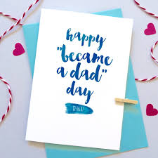 baby cards happy became a day card personalised s day card new