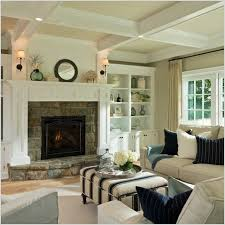 how to decorate living room with fireplace the best option white