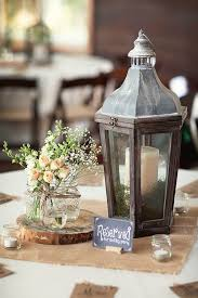 lantern centerpieces for weddings best 25 rustic lantern centerpieces ideas on table