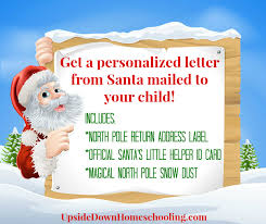 personalized letter from santa personalized letter from santa for your child