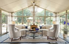 living room gorgeous outdoor sunrooms with fireplace decoration