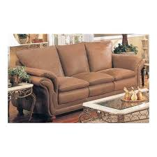 amazon com southern country style italian brushed leather sofa