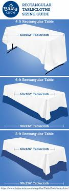 25 tablecloth sizes ideas on tablecloth size