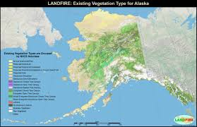 Maps Alaska by Landfire Program Applications