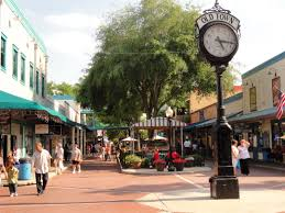 Map Of Kissimmee Old Town In Kissimmee Florida Is Not A Real Town But A Replica