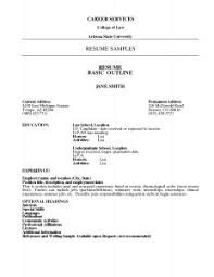 free resume templates simple one page template cv resumes