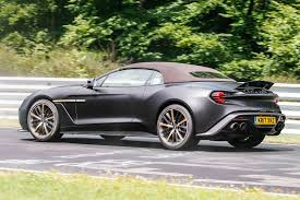 aston martin vanquish zagato zagato aston martin vanquish volante and speedster spied together