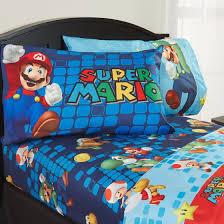 Mario Bros Bed Set Mario Sheet Set Walmart