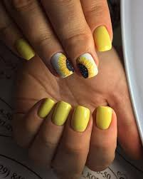 45 yellow nail art designs flower nail art flower nails and flower