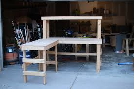 garage workbench building workbenches for the garage stunning