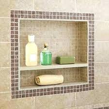 bathroom shower niche ideas bathroom niche ideas tile shower niche one from this house