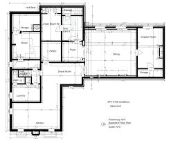 basement walkout floor plans house plan floor plans anthemios control corporation house plans