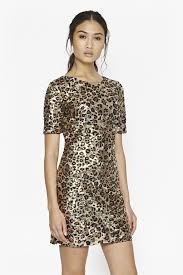 french connection black gold sequin dress fashion dresses