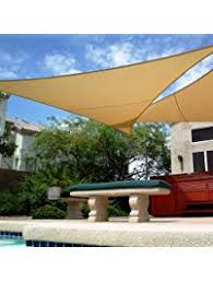 Shade Backyard Amazon Com Shade Sails Patio Lawn U0026 Garden