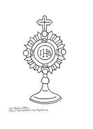 catholic family holy eucharist coloring pages children