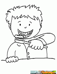 Tooth Brushing Coloring Pages Vitlt Com Brushing Teeth Coloring Pages