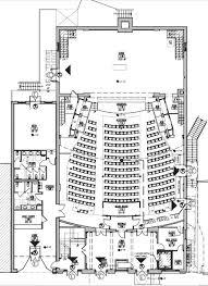 architectural design plans fresh architectural plans of auditorium 3 historic masonic
