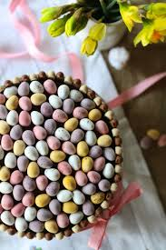 Mini Easter Eggs Decorations by Chocolate Mini Egg Easter Cake Scarletscorchdroppers