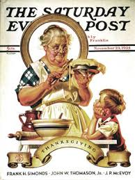 book a norman rockwell thanksgiving illustrated