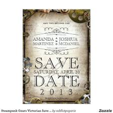 steunk wedding invitations 12 best steunk invitations images on steunk