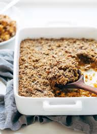 thanksgiving receipe sweet potato casserole with brown sugar topping recipe pinch of yum