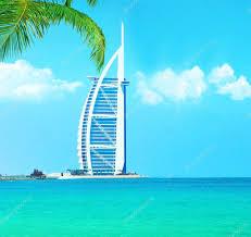 burj al arab hotel on jumeirah beach in dubai u2013 stock editorial