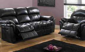 Black Leather Sofa Set Sofa Beautiful White Leather Recliner Sofa Set 37 For Your With
