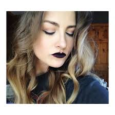 simple dark halloween inspired makeup look u2013 jegabrelcik