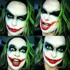 Joker Nurse Halloween Costume Makeup Artist Demonstrates Freaky Halloween Makeup Tutorial