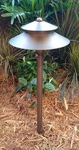 solid brass andromeda path light by lights led low