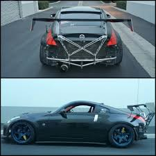nissan 350z vs g35 chassis mount wing u2013 street faction engineering