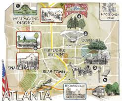 Map Of Atlanta Beltline by Where To Find Remnants Of Old Atlanta Atlanta Magazine
