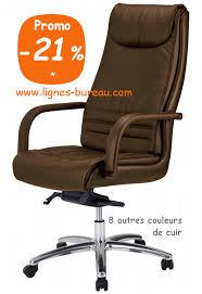 fauteuil de bureau cuir noir attachant chaise bureau cuir fauteuil direction marron confortable