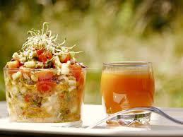 recette de cuisine equilibre idée cuisine idée recettes tartare de crudité alcalin repas