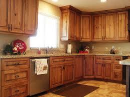 kitchen color ideas with cherry cabinets small primitive kitchen ideas 6833 baytownkitchen