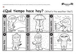 primary spanish resources weather and climate