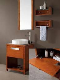 24 Vanities For Small Bathrooms by Petite Open Shelf Bathroom Vanities For A Small Bathroom