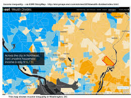 Washington New York Map by Mapping For Justice Income Inequality In Cities Using Esri Storymap
