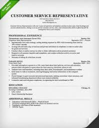 customer service resumes exles customer service representative resume template for