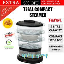 steam cuisine vitasaveur tefal food steamers ebay