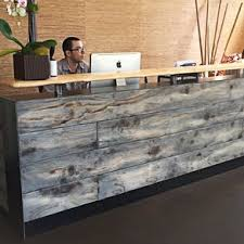 Shabby Chic Reception Desk Reception Desks For Offices Custom Reception Counters