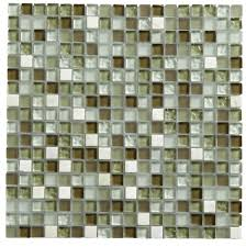 green glass u0026 marble mosaic tile l 300mm w 300mm departments