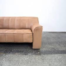 sofa braun de sede ds 44 anilin leather sofa brown two seat modern for