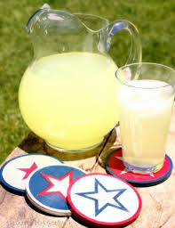 Red White And Blue Home Decor by Diy Americana Coasters The Crafty Blog Stalker