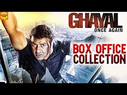 new film box office collection 2016 ghayal once again box office collection sunny deol bollywood