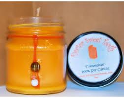 orange creamsicle candle strong vanilla citrus