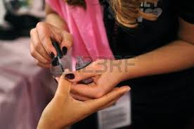 angel with the nail stock photos royalty free angel with the nail
