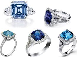 Non Traditional Wedding Rings by Stunning Colored Gemstone Diamond And Platinum Engagement Rings