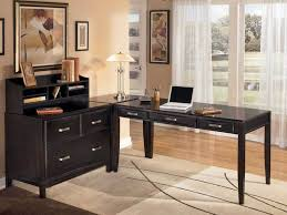 Home Office Writing Desks by Office Desk L Shaped Desks For Home Office In Black Plus Drawers