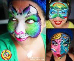 astoria face and body painter brings out inner child with colorful